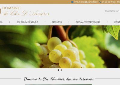 Vente de vin du Domaine