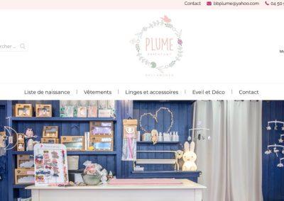 Vente en ligne de vêtements pour bébé