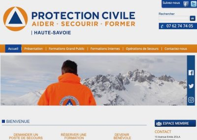 Protection Civile 74