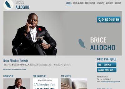 Site de présentation d'autobiographie