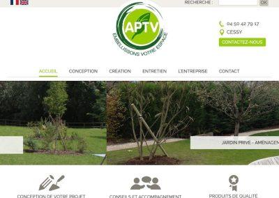 Entreprise de travaux paysagers à Cessy